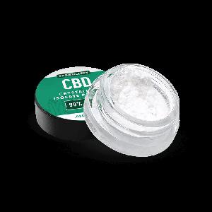 99% Pure CBD Isolate Powder (Crystalline) from Hemp 1g