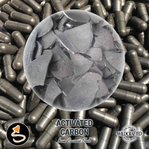 Activated Carbon (Coconut shell) 25 Kapseln