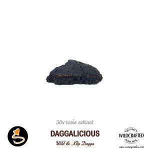Daggalicious Wild and Klip Dagga 30x Resin Extract