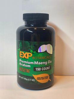 EXP Botanicals Premium Blend Maeng Da Capsules 150 Caps
