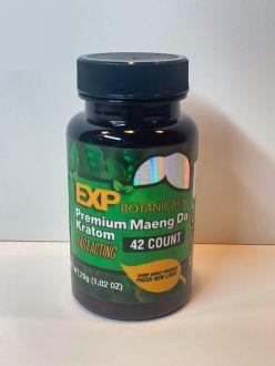 EXP Botanicals Premium Blend Maeng Da Capsules 42 Caps