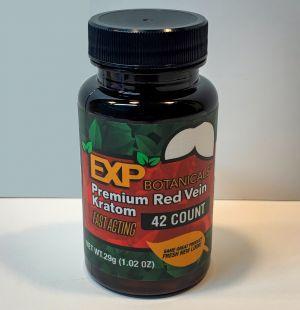 EXP Botanicals Red Vein Premium Blend Capsules 42 Caps