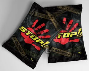 Stop!!! 4g Räuchermischung