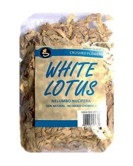White Lotus Flower Crushed Flowers 10g